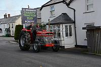 Bradworthy Young Farmers Tractor Run - 80 Tractors- Raising Money For The Farming Community Network - 18th August 2019