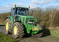 Charity Tractor Run - For Brain Tumor Society And Clic Sargent - 151 Tractors Took Part - Well Done To Everybody That Helped In Anyway.